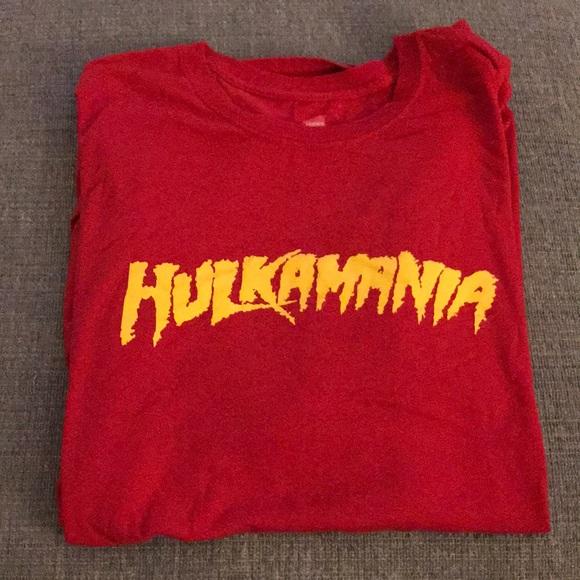 WWE WWF Hulkamania Hulk Hogan T-shirt